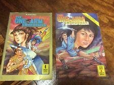 One-Arm Swordsman #1,4 (Dr.Leung's/091427) comic book collection lot of 2
