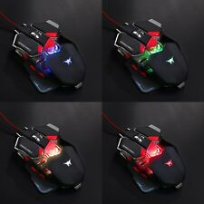 New 4000DPI 10D Buttons LED Optical Mechanical Gaming Mouse for Pro PC Gamer