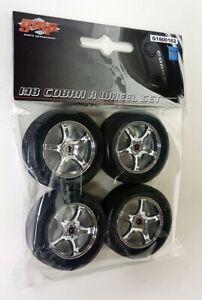 GMP 1/18 Scale Ford Cobra R 5 Spoke Wheel & Tyre Set - Diorama Model Cars