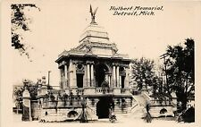 G98/ Detroit Michigan RPPC Postcard c1910 Hulbert Memorial Building