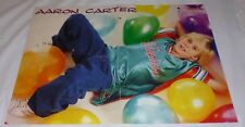 AARON CARTER CENTREFOLD POSTER RARE 2 PAGE YOUNG BOY CRAZY LITTLE PARTY BOY