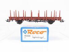 HO Scale Roco 46306 European DB Deutsche Bahn Flat Car w/ Load