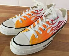 BN CONVERSE CHUCK TAYLOR FLAME FIRE DAPS TRAINERS - UK 9/ US 9/ EUR 42.5