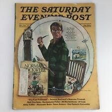 The Saturday Evening Post March April 1973 Norman Rockwell Supreme Triumph