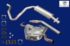 Auspuffanlage ab Kat Saab 9-3 & 900 II 2.0 Turbo  Auspuff
