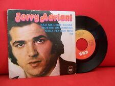 1975 Jerry Adriani não me fantastisen Agora 7/45 EP Nmint Brasil CBS aporte guarda
