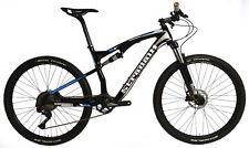 "STRADALLI CARBON DUAL SUSPENSION MOUNTAIN BIKE BICYCLE MTB 15.5"" S 27.5 650B XT"