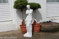 Statue Venus en pierre reconstituée, ton pierre blanche