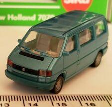 Bus miniatures bleus 1:87