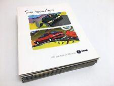 1997 Saab 900 9000 Full Line Brochure