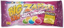 Zed Candy: Crazy Sour Zappers Bubble Gum Sweets Retro 26g