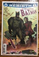 ALL STAR BATMAN #1-13, Scott Snyder, John Romita JR, Jock, Tula Lotay