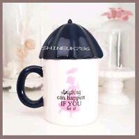 Limited Edition MARY POPPINS DISNEY Ceramic MUG WITH UMBRELLA LID PRIMARK  BNIB