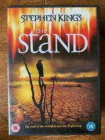 The Stand DVD 1994 Stephen King Virus Epidemia Horror TV Mini Serie