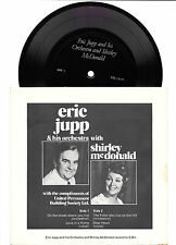 "Eric Jupp, Shirley McDonald, 7"" flexi disc picture sleeve EP 33rpm + CD-R backup"