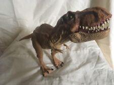 Gran mundo Jurassic Park T Rex tyranasaurus Dinosaurio Poseable Figura de juguete