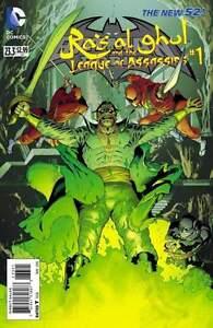 BATMAN AND ROBIN #23.3 Ras al ghul (Villains Month) $1.99 DISCOUNT ISSUE!!