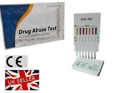 DRUG TESTING/TEST KITS - 7 MAIN STREET DRUGS TESTED - 7 IN 1 TEST