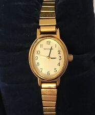 Ladies Gold Plated Sekonda Quartz Analogue Wristwatch & Bracelet - Boxed