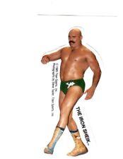The Iron Sheik 1985 Vintage Titan Sports Vending Sticker Wrestling WWF WWE