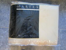 Martex Vellux Twin Ivory Blanket WestPoint Stevens Original New in Zippered Case