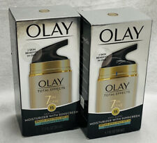 (2) OLAY Total Effects 7-in-1 Anti-Aging SPF 15 Fragrance-Free EXP July2020