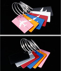 Travel Luggage Tag Metal Suitcase Baggage Bag Office Name Address ID Label