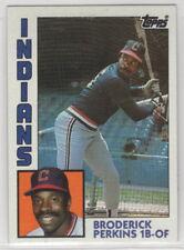 1984 Topps Baseball Cleveland Indians Team Set