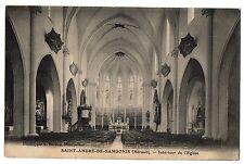 CPA 34 - SAINT ANDRE DE SANGONIS (Hérault) - Intérieur de l'Eglise