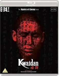 Kwaidan The Masters Of Cinema New Region B Blu-ray Regular Edition Only