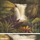 "39W""x32H"" SACRED POOL II by RODOLFO JIMENEZ -SERENE WATERFALLS CHOICES of CANVAS"