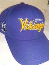New Minnesota Vikings Mens Size OSFA Reebok Purple Adjustable Hat d9685dfd5