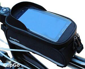 CupGo Rahmentasche Fahrrad Tasche Oberrohrtasche 6,5'' Handytasche