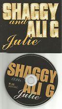 SHAGGY AND ALI G Julie 2002 EUROPE PROMO DJ CD Single USA Seller MINT