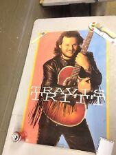 Vintage Travis Tritt 1992 Trouble 35x23 Poster (e21)