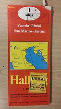 Venice And Surrounding Areas: Road And Excursion Map: Hallwag Map (M12)