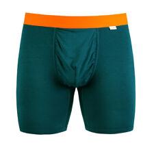 Nwt Mypakage Weekday Men's Small (30-32) Ink High Vis Orange Boxer Brief