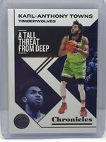 2019-20 Panini Chronicles #17 Karl-Anthony Towns Minnesota Timberwolves