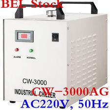 Bel!!! AC220V 50 Hz CW-3000AG Groupe d'eau Ventilateur pour 60/80 W CO2 Tube laser