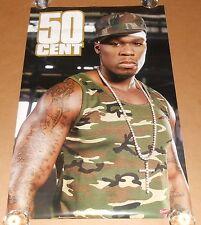 50 Cent Camouflage #8060 Poster 2005 Original 34x22 RARE