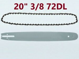"""CHAINSAW GUIDE BAR Chain or combo 20"""" inch 3/8 72DL  STIHL CHAINSAW CHAIN SAW"""