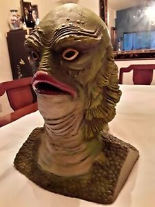 Vintage Full Size Creature From The Black Lagoon Bust Statue