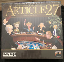 Article 27: The United Nations Security Council Board Game By Stronghold Games