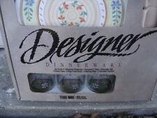 Vintage TEXAS WARE 16 pc Melamine camping plates bowls cups  Set MANDALAY new