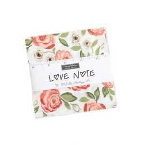 Moda Love Note Charm Pack By Lella Boutique