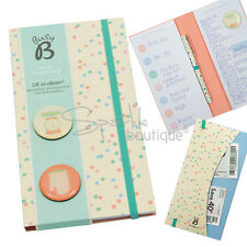 MEAL PLANNER -Organiser Pad & Shopping List- With Magnets -Gift/Stocking Filler