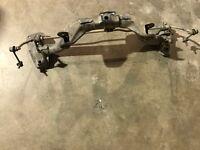 2002-2004 Honda CRV Rear Suspension Crossmember 4WD FWD Subframe Cradle Frame