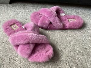 UGG Abela Pink slippers, UK size 7,EUR 40
