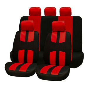 Universal Seat Cushion For Car Front Rear Headrest Covers Interior Four Seasons