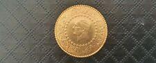 More details for 22ct gold turkish 50 kurush ziyant yarim altin coin 1971